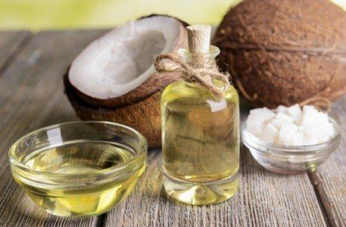 Kết quả hình ảnh cho Sử dụng dầu dừa nguyên chất