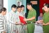 Trại tạm giam, Công an tỉnh Hà Nam: Công bố quyết định tha tù trước thời hạn