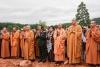 Lễ cất nóc đền thờ các anh hùng liệt sĩ Trung đoàn 5 Yên Tử , đúc tượng đồng Bác Hồ và đại tướng Võ Nguyên Giáp