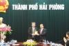 Phó Chủ tịch UBND thành phố Nguyễn Văn Thành tiếp đoàn công tác Công ty Mitsubishi Corporation Việt Nam