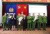 Công an thành phố khen thưởng Công an quận Hồng Bàng