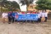 Tuổi trẻ quận Đồ Sơn chung tay làm sạch biển