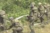 Quân đội Hàn Quốc bắt đầu gỡ mìn ở khu vực phòng không hậu tuyến