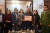 Lãnh đạo quận Lê Chân thăm, tặng quà nhân dịp Tết Nguyên đán Tân Sửu 2021