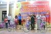 Đồn Biên phòng Tràng Cát: Tặng 11 chiếc xe đạp cho các cháu có hoàn cảnh khó khăn nhân dịp Tết Trung thu