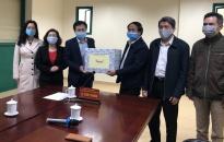 Bí thư Thành uỷ Lê Văn Thành thăm, tặng quà Đài Phát thanh Truyền hình Hải Phòng và Hội Cựu Chiến binh thành phố
