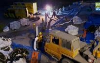 Công ty xi măng Chinfon: Tràn dầu do đứt gãy đường ống bơm