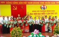 Đảng bộ phường Minh Khai tổ chức thành công Đại hội Đại biểu Đảng bộ phường lần thứ XII, nhiệm kỳ 2020-2025
