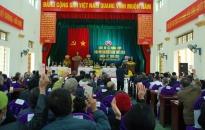 X Thng Thy, huyn Vnh Bo: T chc i hi i biu khóa XXIX, nhim k 2020-2025