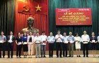 Hơn 240 viên chức được bồi dưỡng kiến thức về Tài nguyên-Môi trường