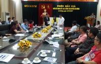 Huyện An Dương đấu giá quyền sử dụng đất thu 12 tỷ