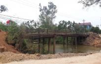 Huyện Tiên Lãng:  Nhiều cây cầu xuống cấp cần được cải tạo, xây mới