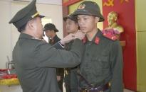 Khai giảng lớp huấn luyện công dân thực hiện nghĩa vụ tham gia Công an nhân dân