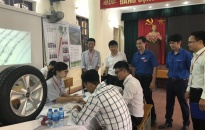 Khu CN Đình Vũ-Quận đoàn Hải An: Tổ chức Hội chợ việc làm năm 2018