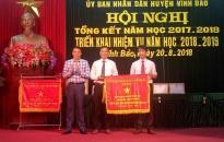 Ngành giáo dục-đào tạo huyện Vĩnh Bảo: Dạy chữ-dạy người-dạy nghề