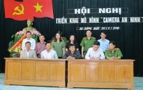 Thị trấn An Dương triển khai mô hình 'Camera an ninh'