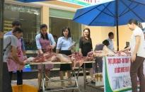 Thịt lợn hơi giảm nhờ nguồn hàng thay thế