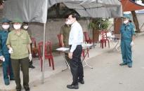 Tổ kiểm soát phòng chống dịch Covid-19 tại các thôn phải trực chốt 24/24h