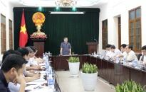 UBND TP nghe báo cáo về tiến độ thực hiện Dự án tuyến đường bộ ven biển, đoạn qua địa bàn Hải Phòng