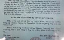 19 Đảng viên thuộc Đảng bộ huyện Tiên Lãng bị kỷ luật Đảng
