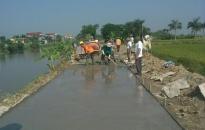 An Lão đẩy nhanh tiến độ xây dựng nông thôn mới