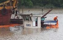 Tai nạn đắm tàu tại Cảng nhập Nhà máy xi măng Chifon