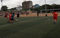 Phòng PC54 - CATP  Tổ chức giao hữu bóng đá