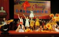 Sôi nổi Liên hoan Ca – Múa – Nhạc thiếu nhi