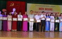 Nhiều tập thể, cá nhân ngành giáo dục huyện Vĩnh Bảo được biểu dương khen thưởng