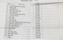 """Vụ """"phiếu thu đầu năm học hơn 9 triệu đồng"""": Yêu cầu kiểm tra chi tiết"""