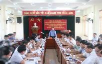 UBND TP làm việc với huyện Tiên Lãng