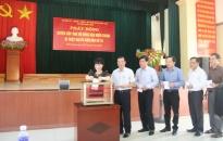 Huyện Tiên Lãng phát động ủng hộ đồng bào miền Trung