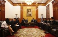 Tập đoàn IHI mong muốn trở thành đối tác chiến lược trong các dự án cầu tại Hải Phòng