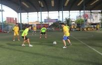 Phòng Cảnh sát PCCC số 1 tổ chức Giải bóng đá giao hữu