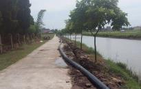 UBND xã Thắng Thủy hủy hợp đồng với Công ty nước Đại Dương