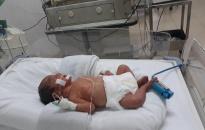 Bé gái sơ sinh bị bỏ rơi tại BV trẻ em Hải Phòng