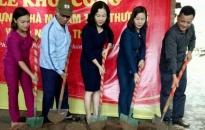 Hội LHPN quận Lê Chân: Khởi công nhà Mái ấm tình thương cho hội viên nghèo