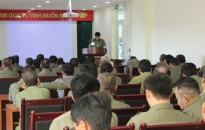 Quận Dương Kinh: Tập huấn lực lượng Bảo vệ dân phố