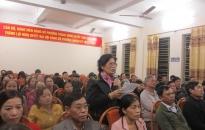 Chủ tịch UBND TP Nguyễn Văn Tùng tiếp xúc cử tri nơi cư trú