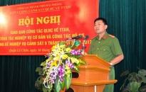 Lực lượng Cảnh sát QLHC về TTXH – CATP 32 tập thể và cá nhân được khen thưởng