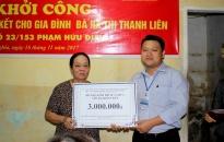 UBND phường Niệm Nghĩa và UB MTTQ Việt Nam quận Lê Chân: Khởi công sửa chữa nhà Đại đoàn kết