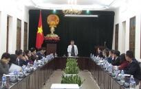 Hội nghị hợp tác Hành lang kinh tế 5 tỉnh, thành phố lần thứ 8: Cần bảo đảm các điều kiện tốt nhất