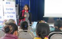 Bảo hiểm tiền gửi Việt Nam chi nhánh khu vực Đông Bắc Bộ: Tuyên truyền chính sách bảo hiểm tiền gửi tại huyện Vĩnh Bảo