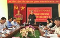 Quận ủy Dương Kinh: Nâng cao năng lực lãnh đạo, sức chiến đấu của tổ chức cơ sở đảng