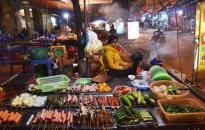 Nỗi lo an toàn thực phẩm từ các quán nướng vỉa hè