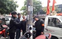 Quận Lê Chân: Nhiều biện pháp mạnh xóa quảng cáo rao vặt