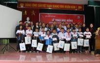 Văn phòng tổng đại lý GENCASA Hải Phòng: Trao 20 suất học bổng cho học sinh quận Dương Kinh