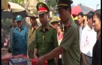 Công an Nam Định bảo vệ an toàn các lễ hội mùa thu trên địa bàn tỉnh