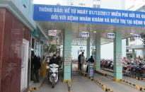 Sau một tháng thí điểm không thu tiền gửi xe tại BV Việt – Tiệp