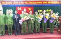 CATP khen thưởng Công an huyện Thủy Nguyên
